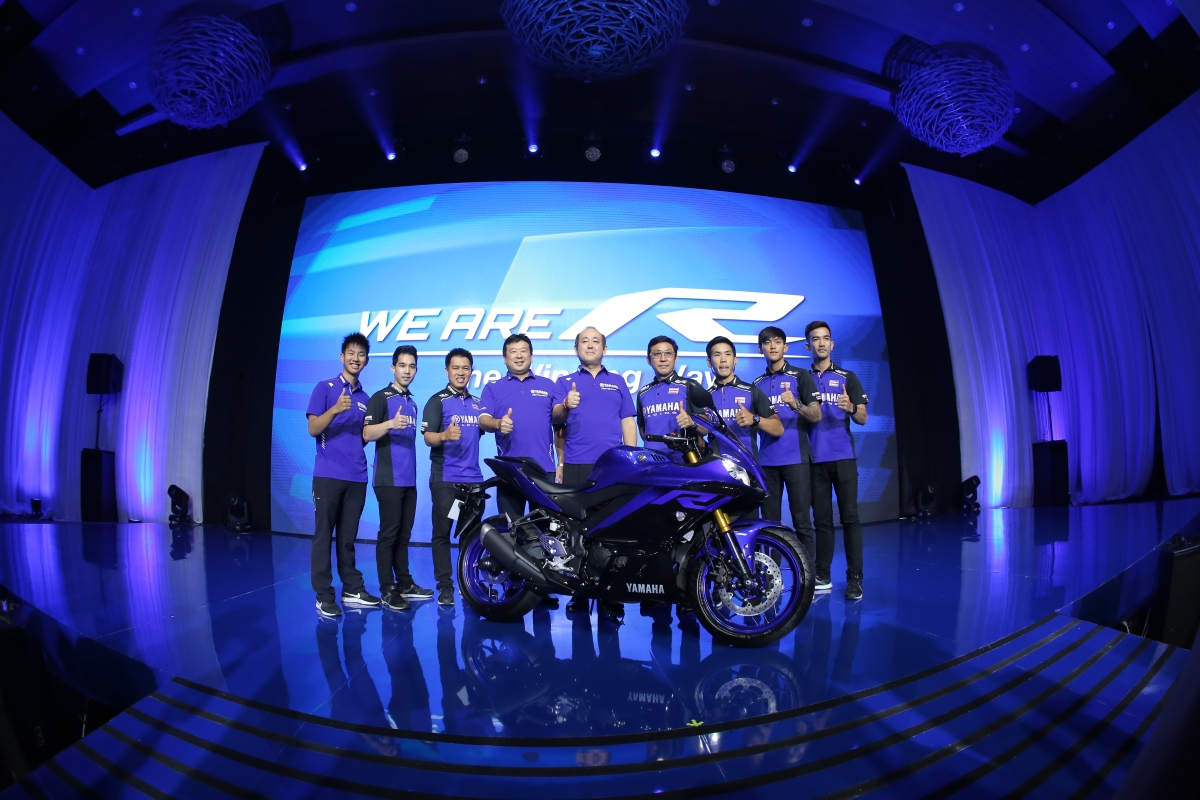 "Press Release : Lewat ""We Are R"" Yamaha R25 dan R3 Generasi Terbaru Resmi Dilaunching"