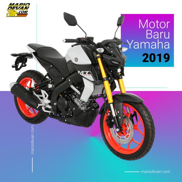 motor terbaru yamaha 2019, motor baru yamaha 2019